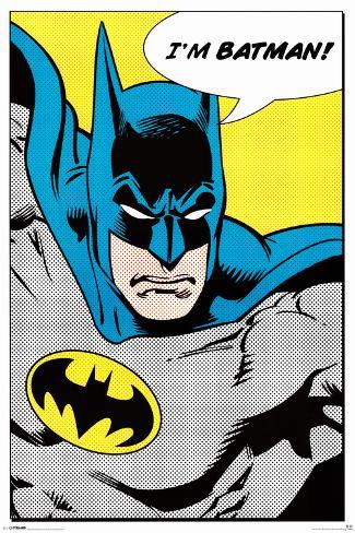 Batman (I'm Batman) Poster