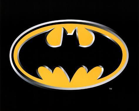 Batman Logo Art Poster Print Mini Poster
