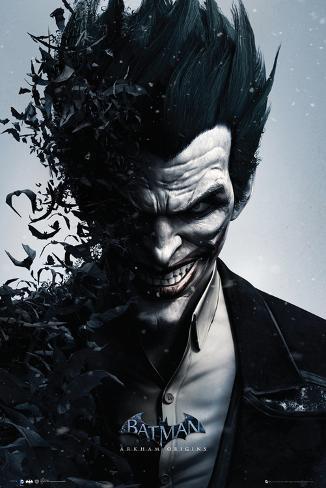 Batman Origins - Joker Bats Poster