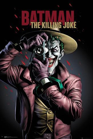 Batman- The Killing Joke Cover Poster