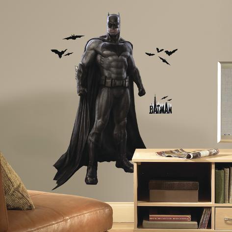 Batman V Superman: Batman Peel And Stick Giant Wall Decals