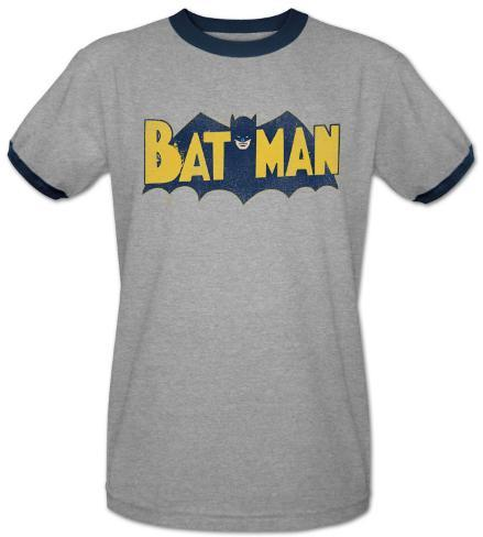 Batman-Vintage Batman Logo T-Shirt
