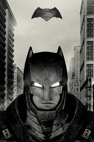 Batman vs. Superman- Armored Glare Poster
