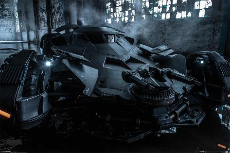Batman vs. Superman- Batmobile Poster