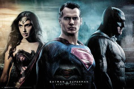 Batman vs. Superman- City Poster