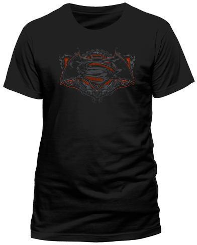 Batman vs. Superman- Ornate Logo Camiseta