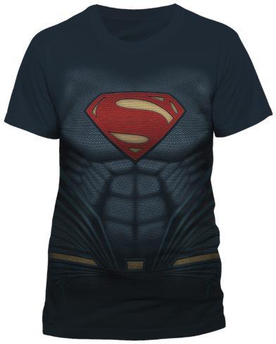Batman vs. Superman- Superman Costume Tee Sublimated