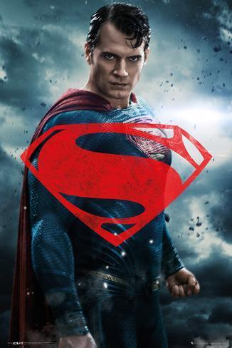 Batman Vs. Superman- Superman Solo Poster