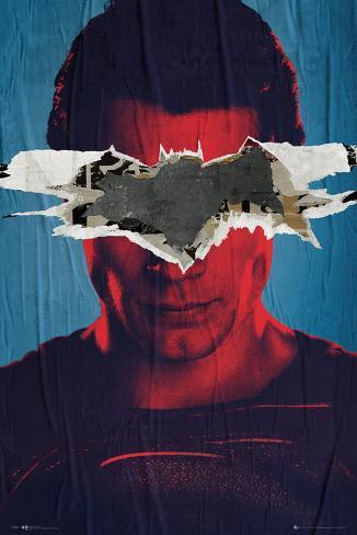 Batman Vs Superman Superman Teaser Poster