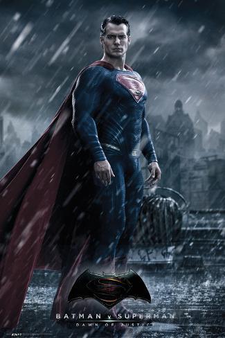 Batman vs. Superman- Superman Poster