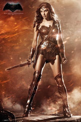 Batman vs. Superman- Wonder Woman Póster