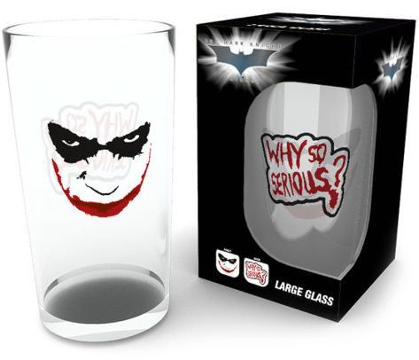 Batman - Why So Serious 500 ml Glass Novelty