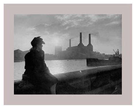 Battersea Power Station, Post-War Art Print