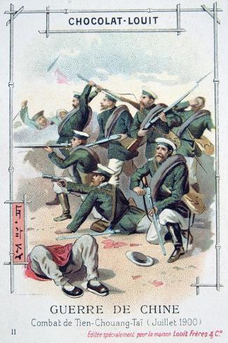 Battle at Tien-Chuang-Tai, China, Boxer Rebellion, July 1900 Giclee Print