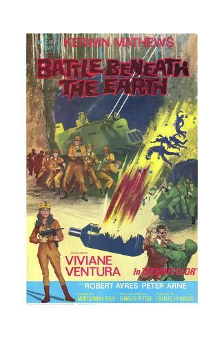 Battle Beneath the Earth Art Print