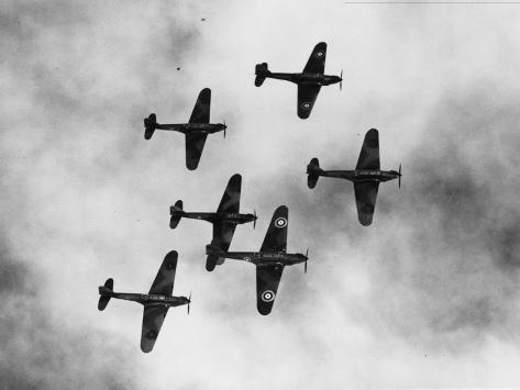 Battle Bombers Photographic Print
