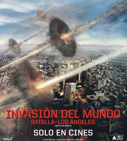 Battle: Los Angeles - Chilean Style Poster