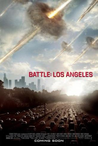 Battle: Los Angeles Double-sided poster