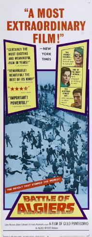 Battle of Algiers - Spanish Style Poster