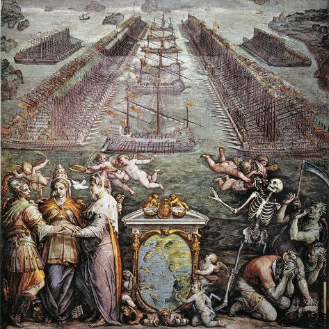 Battle Of Lepanto, 1571 Giclee Print