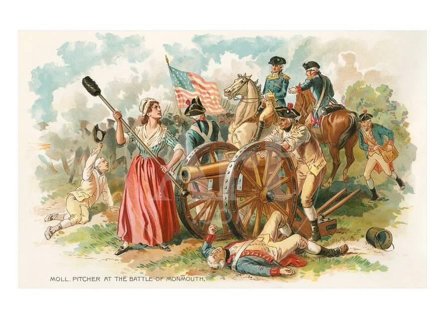battle of monmouth molly pitcher art at allposters com