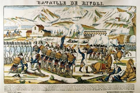 Battle of Rivoli, 14 January, 1797 Giclee Print