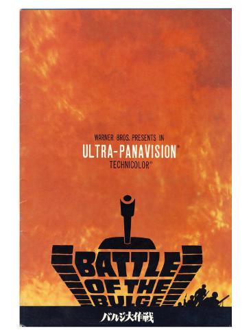 Battle of the Bulge, 1966 Premium Giclee Print