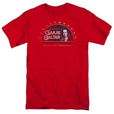 Battle Star Galactica-Elect Gaius T-Shirt
