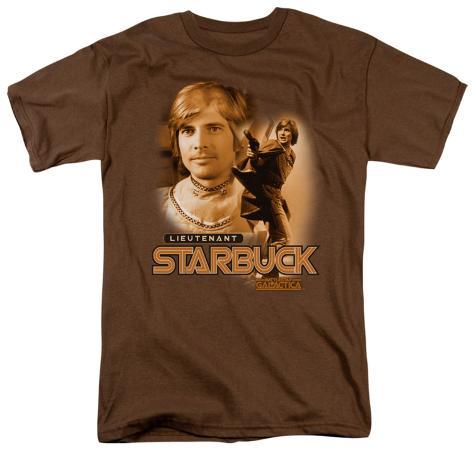 Battle Star Galactica-Starbuck T-Shirt