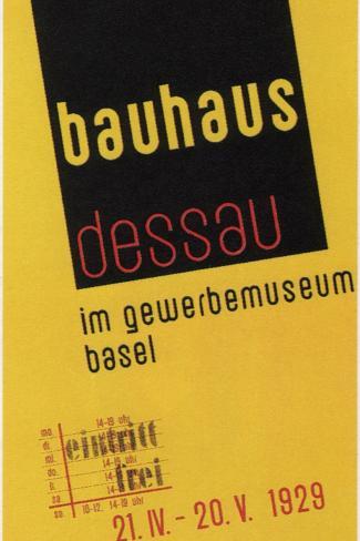 Bauhaus 1929 Impress O Gicl E Na