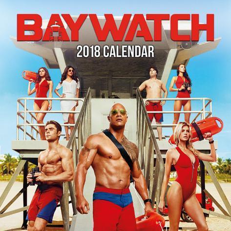Baywatch Movie - Boys - 2018 Calendar Calendars