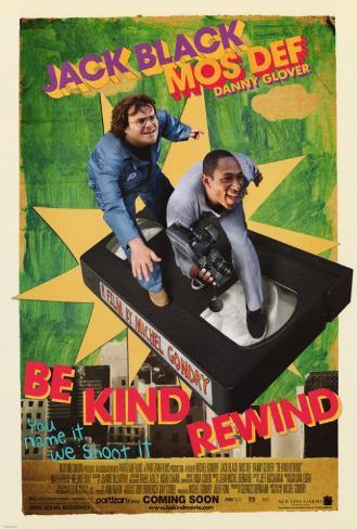 Be Kind Rewind Poster