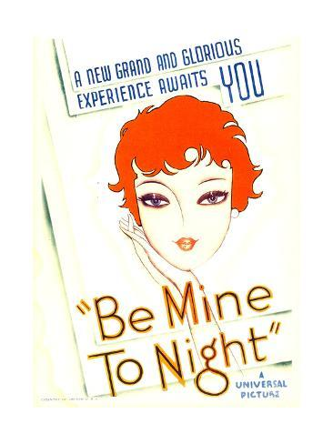 Be Mine Tonight (aka Tell Me Tonight), 1932 Konstprint
