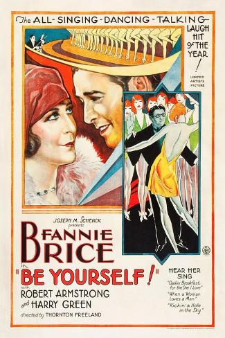 Be Yourself!, 1930 ジクレープリント