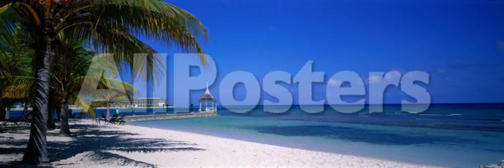 オールポスターズの beach at half moon hotel montego bay jamaica