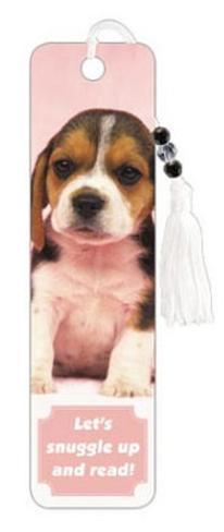 Beagle Puppy Beaded Bookmark Bookmark