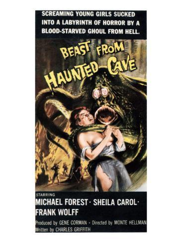 Beast From Haunted Cave, Sheila Carol, 1959 Foto