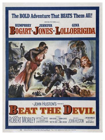 Beat the Devil, 1953 Art Print
