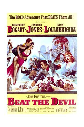 Beat the Devil - Movie Poster Reproduction Art Print