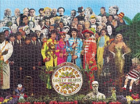 Beatles Sergeant Pepper 1000 Piece Jigsaw Puzzle Jigsaw Puzzle
