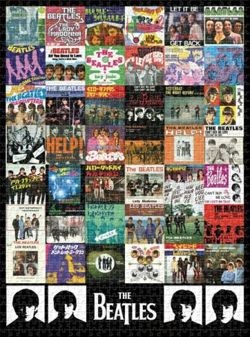 Beatles - Singles 1000 piece puzzle Jigsaw Puzzle