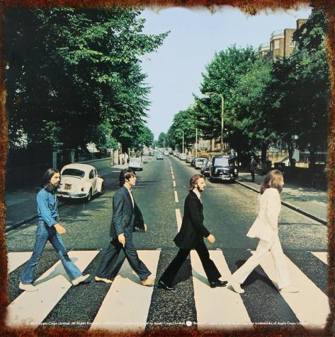 Beatles Tin Sign