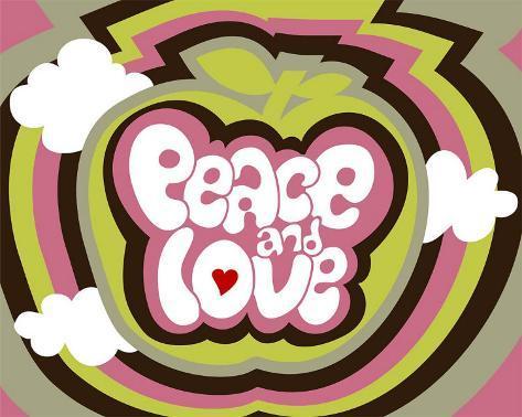 オールポスターズの ベアトリス パトラ カナール peace and love 高
