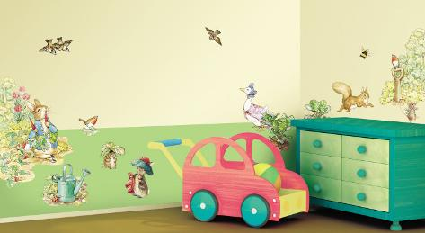 Beatrix Potter Wall Decal Sticker Wall Decal
