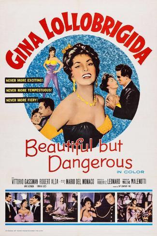 Beautiful But Dangerous, 1956 Art Print