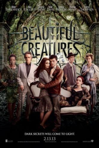 Beautiful Creatures - Eathan, Lena and Group Movie Poster Poster double face