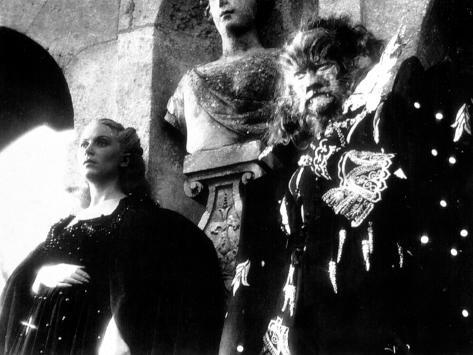 Beauty and the Beast, Josette Day, Jean Marais, 1946 Photo