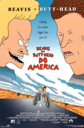 Beavis and Butt-Head Do America Movie Poster Print Poster