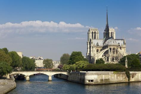 Notre Dame De Paris, Paris, France. Photographic Print