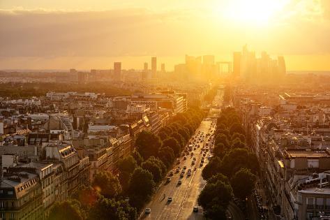 Paris La Defense Photographic Print